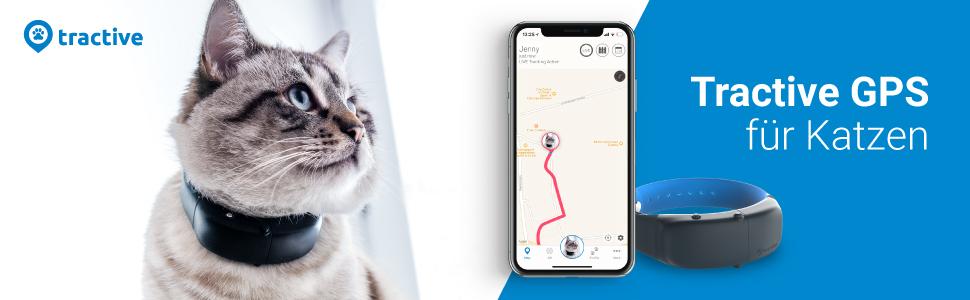Tractive Cat, GPS Tracker für Katzen, Katzentracker