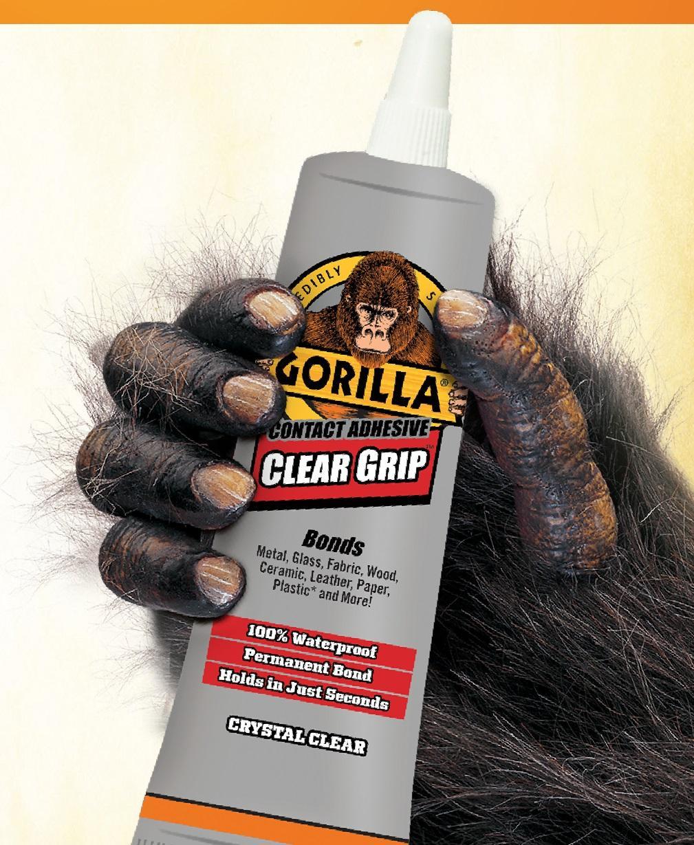 amazon com gorilla 8040001 clear grip contact adhesive 3 oz