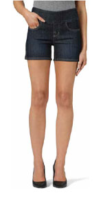 pull-on skinny jeans, pull up jeans, pull on jeans, pull on jeans women's, blue jean shorts