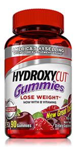 hydroxycut gummies, gummy, weight loss, lose weight, non stimulant, caffeine free