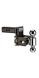 Trailer Hitch Ball Sizes >> Amazon Com B W Trailer Hitches Ts10033b Tow Stow 3in Drop