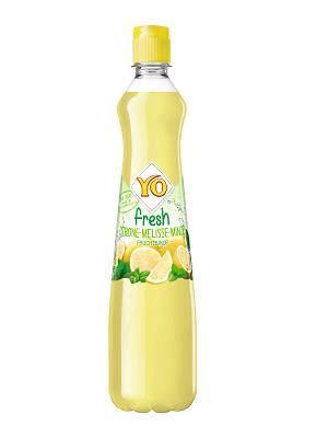 Yo Sirup Fresh Zitrone-Melisse-Minze, 6er Pack (6 x 700 ml