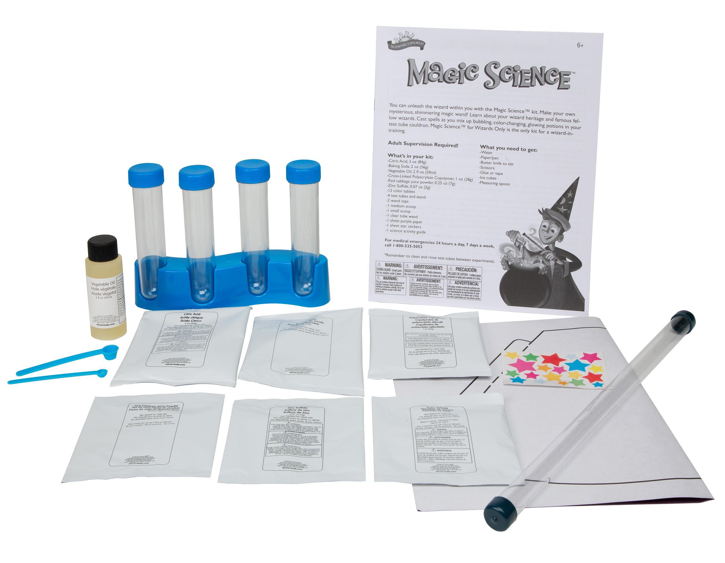Amazon Scientific Explorer Magic Science for Wizards ly Kit