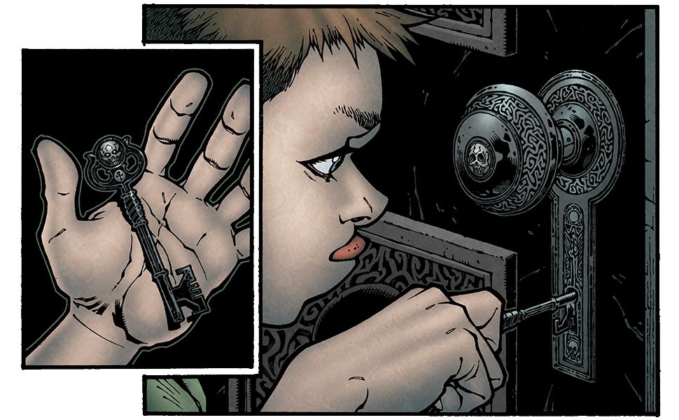 Page from Locke & Key