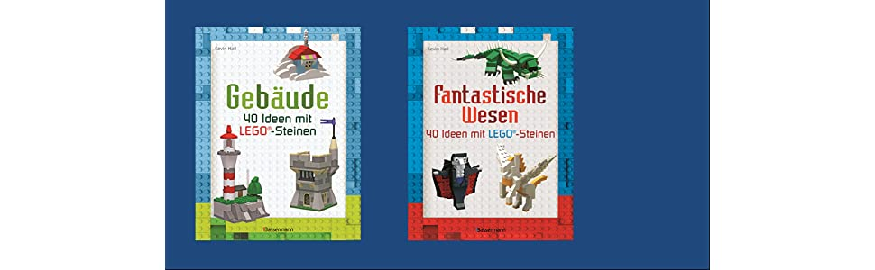 Gebäude: 40 Ideen mit LEGO®-Steinen: Amazon.de: Kevin Hall: Bücher