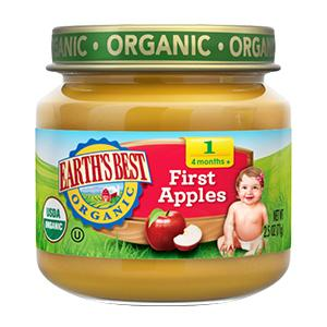 Apples. Earth's Best Organic Baby Food ...