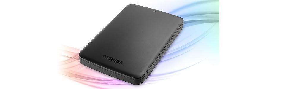""".Toshiba Canvio Basics 1 To Disque dur externe portable (6,4 cm (2,5""""), USB 3.0) Noir"""