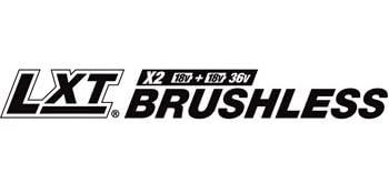 LXT X2 burshless 18v + 18v =36v logo