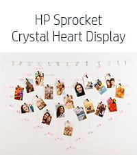 crystal heart display LED string light clips pen caddy black album wallet case travel