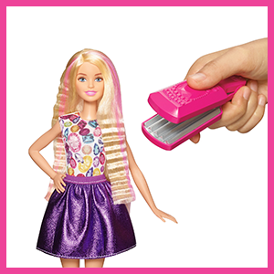 Barbie DWK Crimp And Curl Doll Barbie Amazoncouk Toys Games - Doll hairstyles barbie
