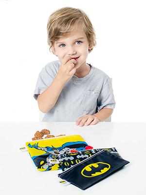 batman reusable snack bags