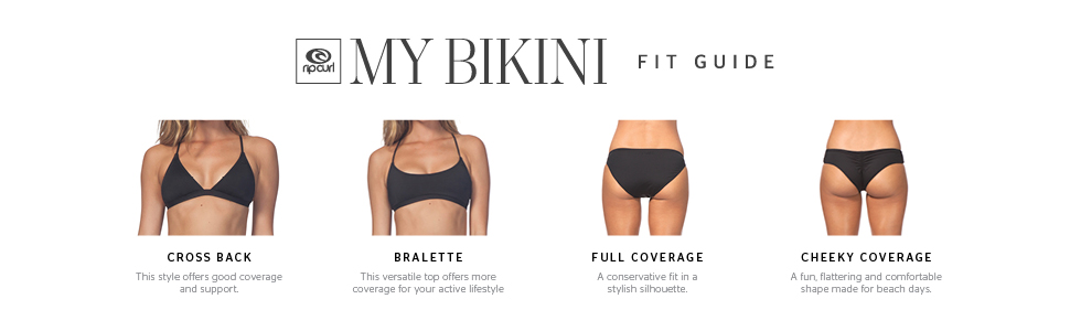 bikini tops and bottoms fit guide