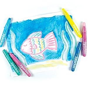 sparkle gel crayon