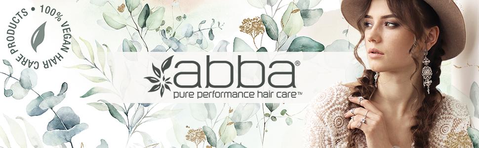 abba, haircare, shampoo, conditioner