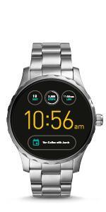 Fossil Smartwatch Analogico para Unisex de Procesador con ...
