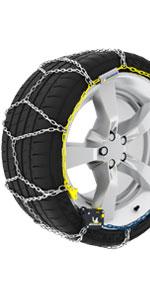 chaine a neige EXTREM GRIP AUTOMATIQUE MICHELIN;chaine a neige tension automatique;montage rapide