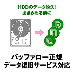 バッファロー正規データ復旧サービス対応