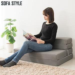 ゆったり座れるソファスタイル