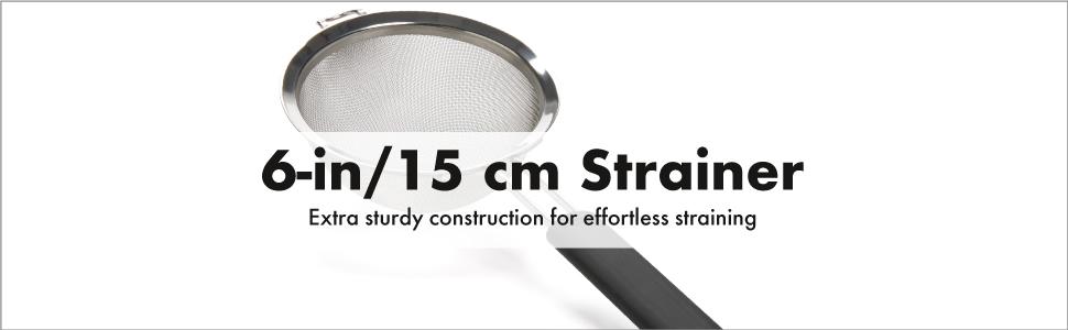 100/% Genuine D.LINE Stainless Steel 18cm Mesh Strainer Sieve RRP $24.99!