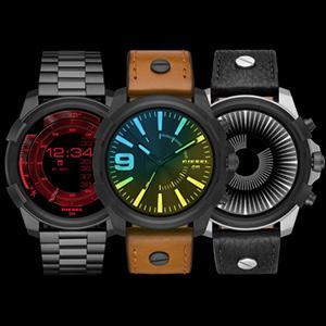 Diesel Reloj Hombre de Digital con Correa en Cuero DZT2001