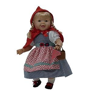 Tita muñeca bebé con chupete (R/1080), con un bonito vestido de inverno para que los niños jueguen a vestirla y desvestirla. Muñeca de cuerpo blando y ...