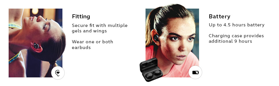 Jabra Elite Sport with superior fit and battery life