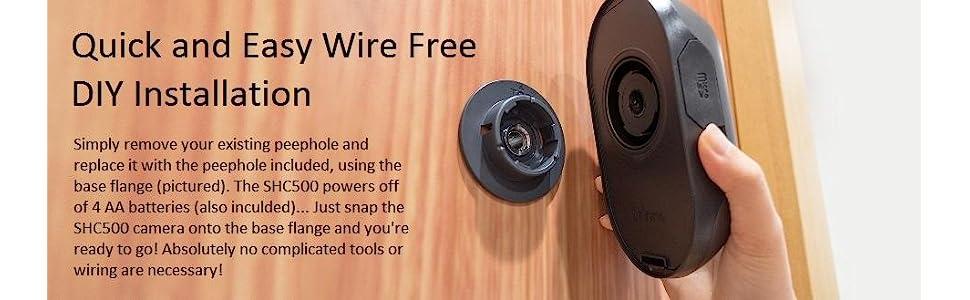 Amazon Brinno Front Door Peephole Security Camera Easy To