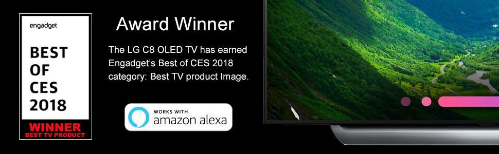 Amazon com: LG Electronics OLED55C8P 55-Inch 4K Ultra HD