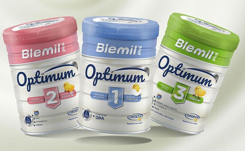 Blemil Plus 1 AE Leche para lactantes, 1 unidad 800g. Efecto Anti ...