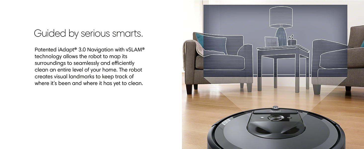 Amazon Com Irobot Roomba I7 7150 Robot Vacuum Wi Fi