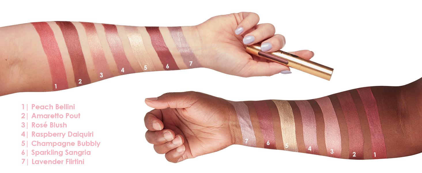 grandelips plumping liquid lipstick cream creamy silky comfortable lips precision applicator tip