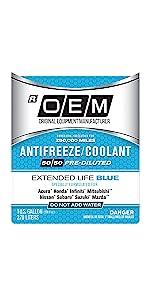 OEM Extended Life Blue ...