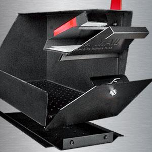 Anti theft mailbox