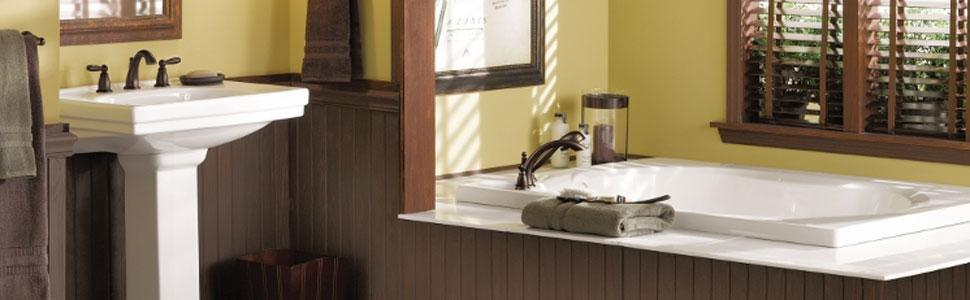 Amazon Com Moen T2153 Brantford Tub And Shower Faucet Set