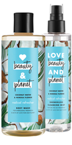 Love Beauty & Planet Radical Refresher Body Wash & Cleansing Mist