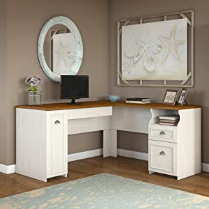 Fairview,desk,hutch,lateral file,office,black,white,Bush Furniture,storage,computer desk,ldesk,file