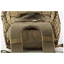 Yoke Style Backpack Straps, Hydration Compartment Located on Back Panel