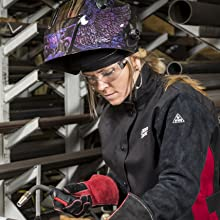 Women; Welding; Leather; Gloves; Jessi Combs;