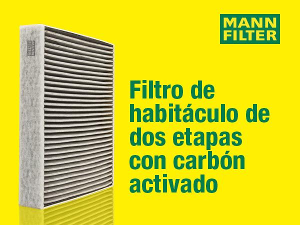 Para autom/óviles Filtro antipolen con carb/ón activo MANN-FILTER Original Filtro de Habit/áculo CUK 2433