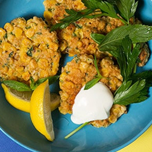 Herb Corn Fritters