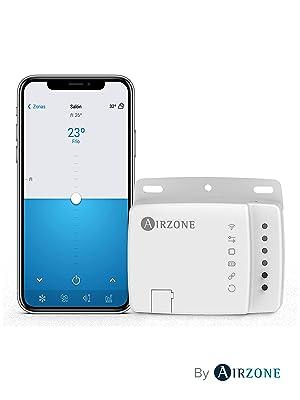 AIRZONE - Aidoo Control WiFi - Termostato WiFi - Compatible con Alexa y Google Home - Aire Acondicionado LG - Función control por voz: Amazon.es: Bricolaje y herramientas