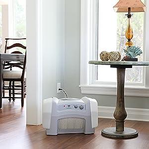 Evap40 Whole Room Evaporative Vortex Humidifier Lifestyle