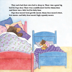 Full color illustrations from inside of the book