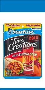 Tuna Creations BOLD Hot Buffalo Style