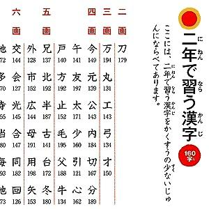 小学校 漢字 2年生 二年生