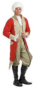 Men's British Redcoat costume