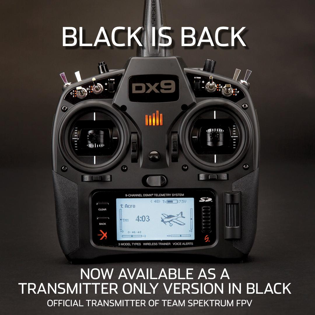 Amazon.com: Spektrum DX9 Black 9-Channel Dsmx Transmitter