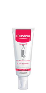 Body firming gel sculpts, firms and tones slackened skin post-pregnancy, restoring body contours