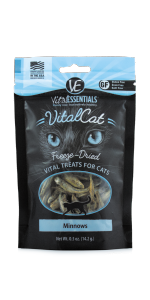 Amazon Com Vital Cat Duck Liver All Natural Treats Freeze Dried Delectable Raw Nutrition For Kittens Cats Made In Usa Low Calorie 0 9 Oz Resealable Bag Pet Supplies