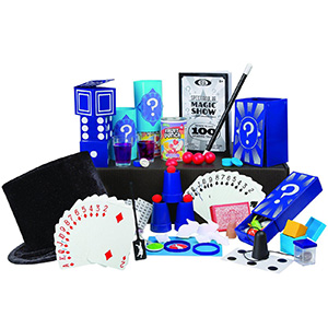 Magic, kit, illusions, magician, hat, wand, props, show, tricks, stage,
